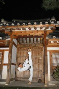 Korea Kick hoch